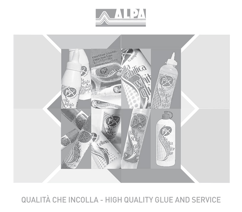 Catalogo Alpa Collanti - Colla Stick, Vinilica, Liquida e Correttori